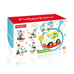 DL 1812 - FISHER PRICE - JEŹDZIK 4 w1
